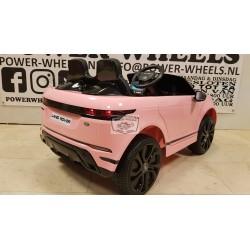 Range Rover Evoque ELEKTRISCHE KINDERAUTO 12V 2.4G RC roze mp4