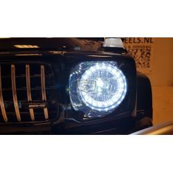 MERCEDES G63 AMG KINDER ACCU AUTO 12V 2.4G METALLIC ZWART 2P