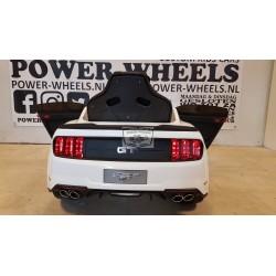 Ford Mustang GT elektrische kinderauto 12v 2.4g wit