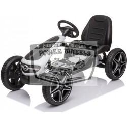 Go Kart Mercedes Skelter wit