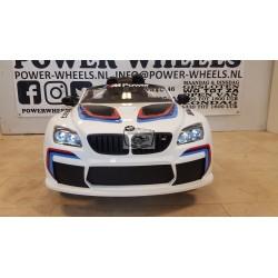 BMW M6 GT3 ELEKTRISCHE KINDERAUTO 12V 2.4G WIT