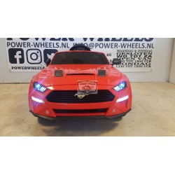 Ford Mustang GT elektrische kinderauto 12v 2.4g Metallic rood