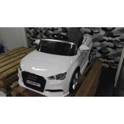 Audi A3 elektrische kinderauto wit 2.4G