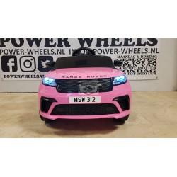 RANGE ROVER VELAR elektrische kinderauto 12v 2.4g roze