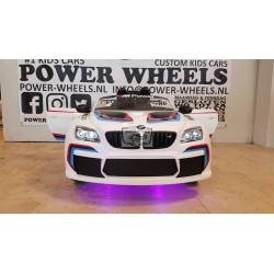 CUSTOM BMW M6 GT3 ELEKTRISCHE KINDERAUTO 12V 2.4G PAARS LED