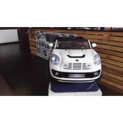 Mini Cooper Beachcomber xl 12 volt wit